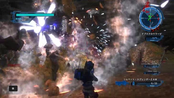 【地球防衛軍5】エアレイダー、地下洞窟のおすすめ装備と立ち回り方
